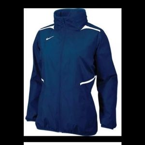 NWT Nike Womens Challenger Woven Jacket NAVY (S)